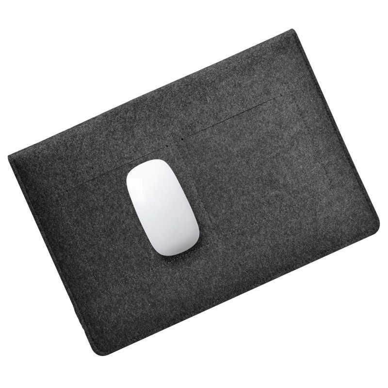Wolvilt Slim Sleeve Notebook Tassen Voor Macbook Pro Retina 11 13 15 Case Voor Xiaomi Air 12.5 13.3 15.6 oppervlak Laptop 13.5 Cover