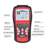 Best ODB 2 Automotive Scanner Multi languages Scaner Automotive EOBD OBDII Car Diagnostic Tool