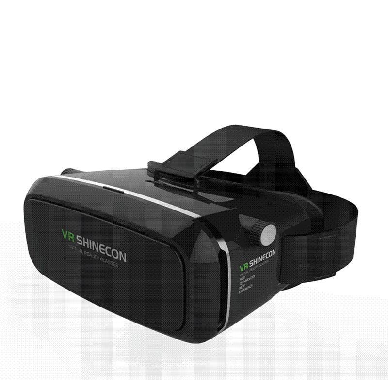 Cheapest font b VR b font Shinecon Virtual Reality 3D Glasses Google Cardboard Headset Oculus Rift