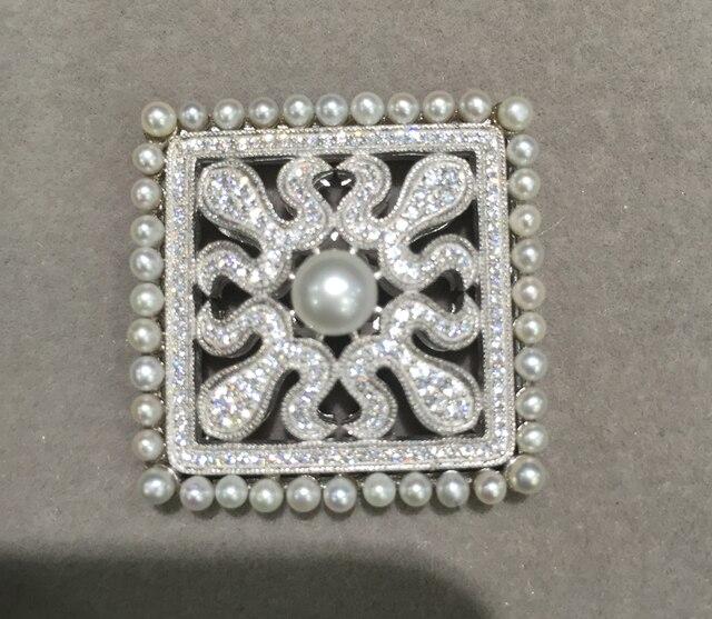 Ювелирных изделий и компонентов разъемы для ювелирных изделий ожерелье или браслет делая 925 sterling silver with cubic zircon мода