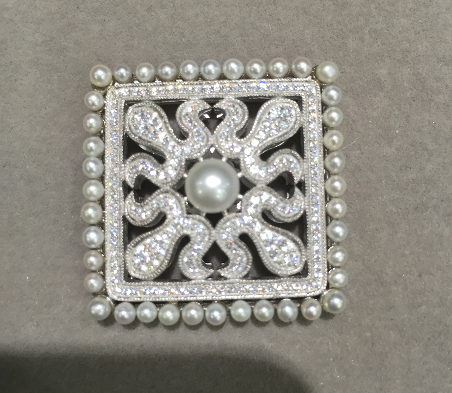 Résultats de bijoux et composants connecteurs pour bijoux collier ou bracelet en argent sterling 925 avec zircon cubique