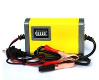 12V 2A Motorcycle battery smart charger Car lead acid storage battery charger with crocodile clip