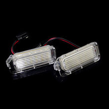 2Pcs 12V Car Led Number License Plate Light Lamp For Ford Grand C-MAX Auto 18 Leds Supper Bright Auto Daytime Running Lights