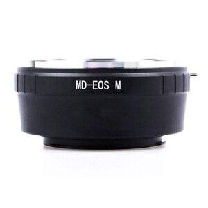 Image 2 - Foleto adapter do obiektywu pierścień do minolty MD MC obiektyw do canon nikon pentax NX Micro 4/3 M43 adapter do montażu G3 GF5 MD M43