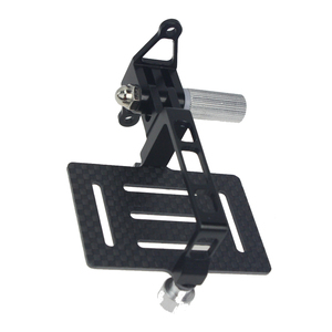 Углеродное волокно Антивибрационная PTZ пластина крепление для экшн-камер Gopro Hero для DJI Phantom 1 2 FPV Дрон карданов подвес для квадрокоптера крепл...