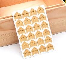 5 листов 120 шт 12,5*9 см Модная уникальная клейкая бумага DIY уголок альбома стикер