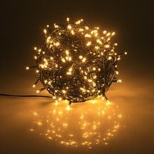 10M 20M 30M 50M 100M 24V Safe Voltage Green Cable Christmas LED String Lights for Xmas Trees Party Wedding Events Decoration