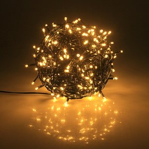 10M 20M 30M 50M 100M 31V Safe Voltage Green Cable Christmas LED String Lights for Xmas Trees Party Wedding Events Decoration