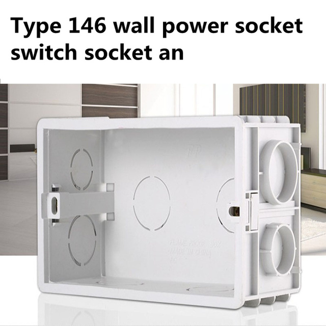 Cheap Cost Wall Socket Wiring Bottom Box Surface Mounted Boxes For ...