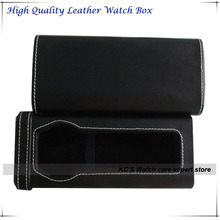 2014 New Leather Watch Box Locker  for One Fashion Watches Storage Travel Box Best Gift for Christmas Birthday GC01-PH-1040B