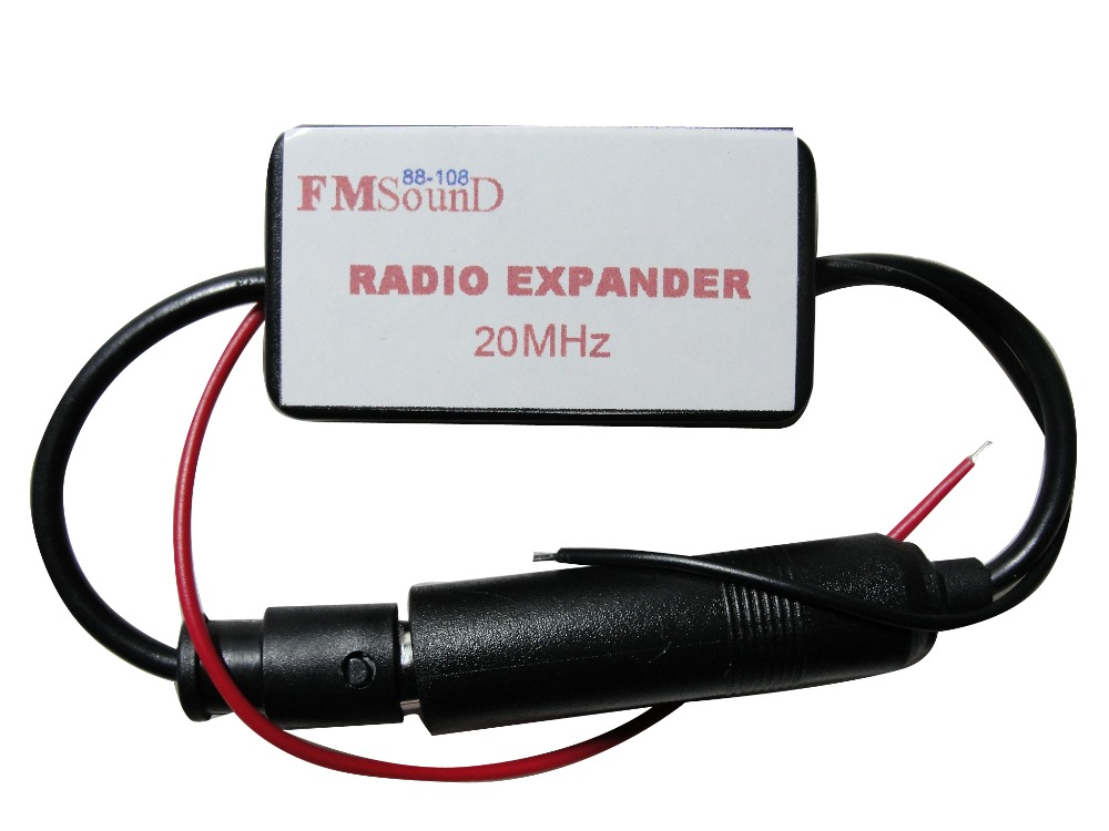 20MHz Car Cassette Player Radio FM Converter FM Band EXpander Frequency Converter Universal