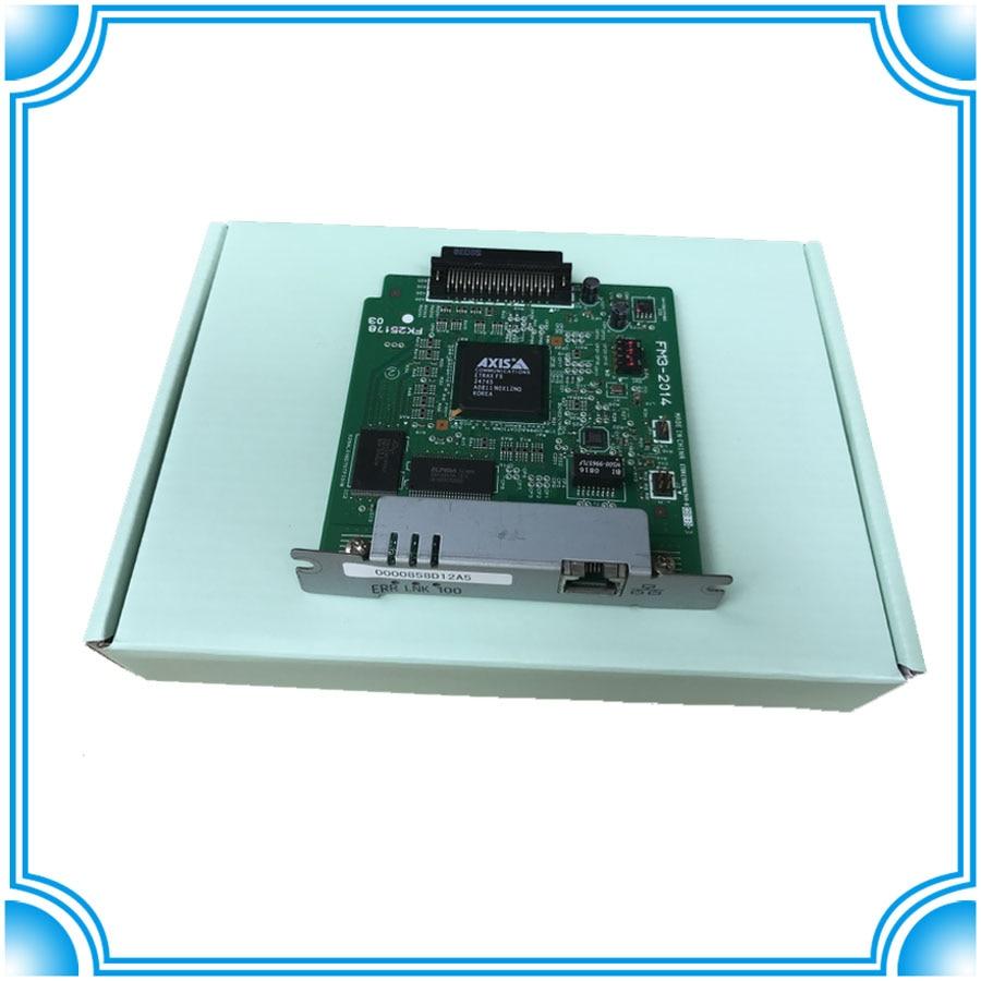 все цены на FM3-2014-000 FM3-2014 Jetdirect LBP3500 LBP3300 LBP3310 LBP5100 LBP5000 NB-C1 Network Card Print Server printer Net card онлайн