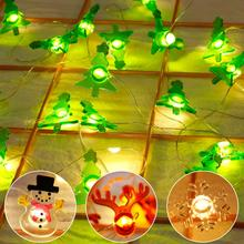 2M LED Light String Christmas Decorations for Home Xmas Party Ornaments Christmas Tree Decorations Birthday Party Accessories christmas decorations for home led christmas candle christmas tree decorations led light xmas christmas tree ornaments pendants