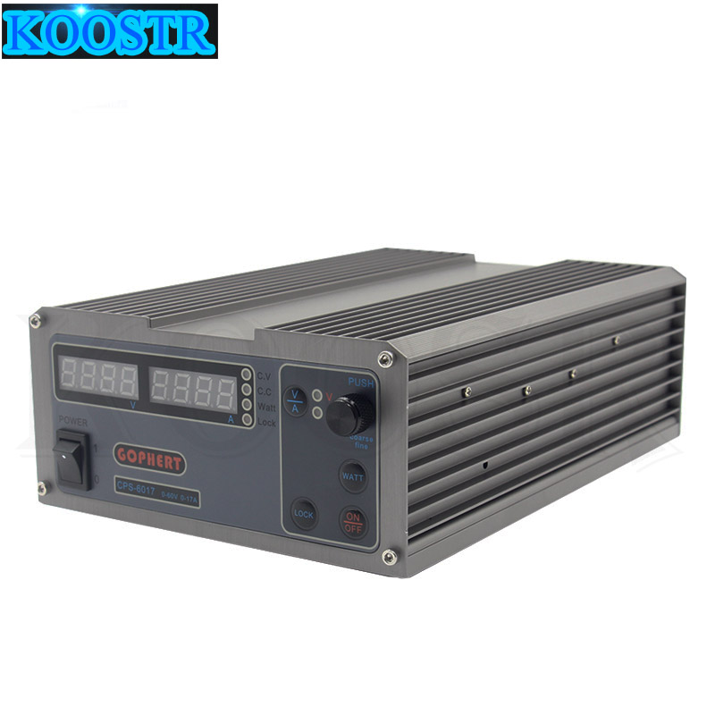 CPS 6017 Updated Version 1000W 0 60V 0 17A High Power Digital Adjustable DC Power Supply