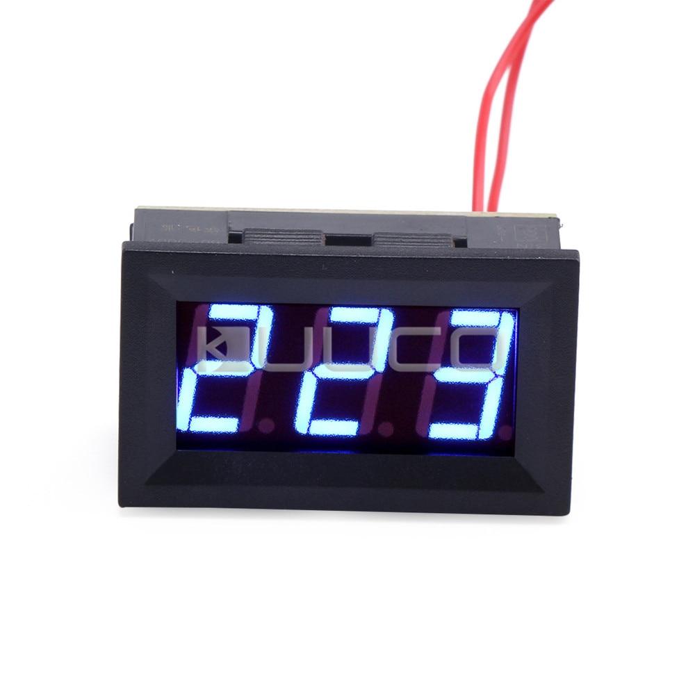 AC 75~300V Digital Voltmeter AC 110 /220V Voltage Monitor/Tester 0.56 Blue Led Display Voltage Meter