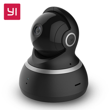 [International Edition]Xiaomi YI 1080p Dome Camera+32G Card 112″ Wide Angle 360″ View Pan-Tilt Control Night Vision IP Home Cam