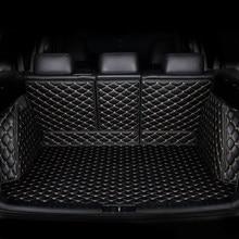 Tapis de coffre de voiture personnalisé pour Hyundai, pour tous les modèles Grand SantaFe Sonata New Santafe ENCINO Verna Elantra Avante MISTRA ix25 ix35 Tucson
