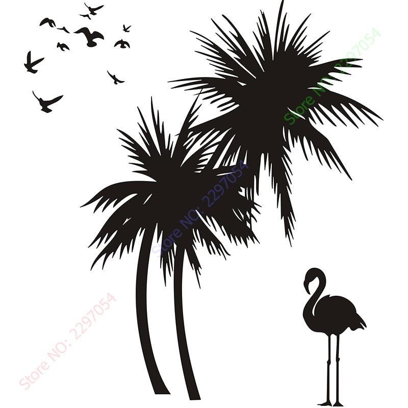Sıcak Satış Büyük Palmiye ağaçları Kuş yapıştırıcı - Ev Dekoru - Fotoğraf 3