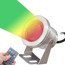 OSIDEN Led Underwater Light RGB 10W 12V Led Underwater Light 16 Colors