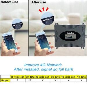 Image 5 - מיני 4 גרם LTE 1800 mhz נייד אותות בוסטרים DCS 1800 להקת 3 מהדר סלולארי LCD תצוגת מגבר יאגי אנטנה + 13 m RG6 סט #4