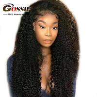 Kinky Curly Human Hair Wig Lace Front Human Hair Wigs For Black Women Human Hair Wigs Pre Plucked Remy Lace Wig Bleached Knots