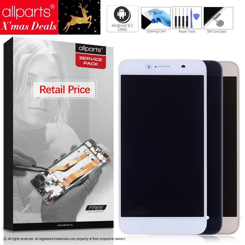 5,0'' NUEVO Original pantalla para HUAWEI Honor 4C Pro LCD Tactil Completa Display táctil Écran para HUAWEI Y6 Pro TIT-L01 pantalla LCD con marco Digitalizador reemplazo Negro Dorado Blanco