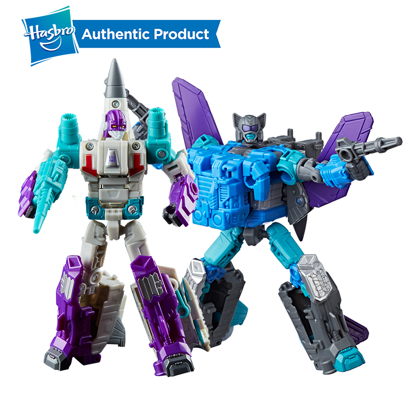 Hasbro Transformers Generations Power of the Primes Deluxe Class Dreadwin Blackwing Autobot Action Figure Model Car Toys