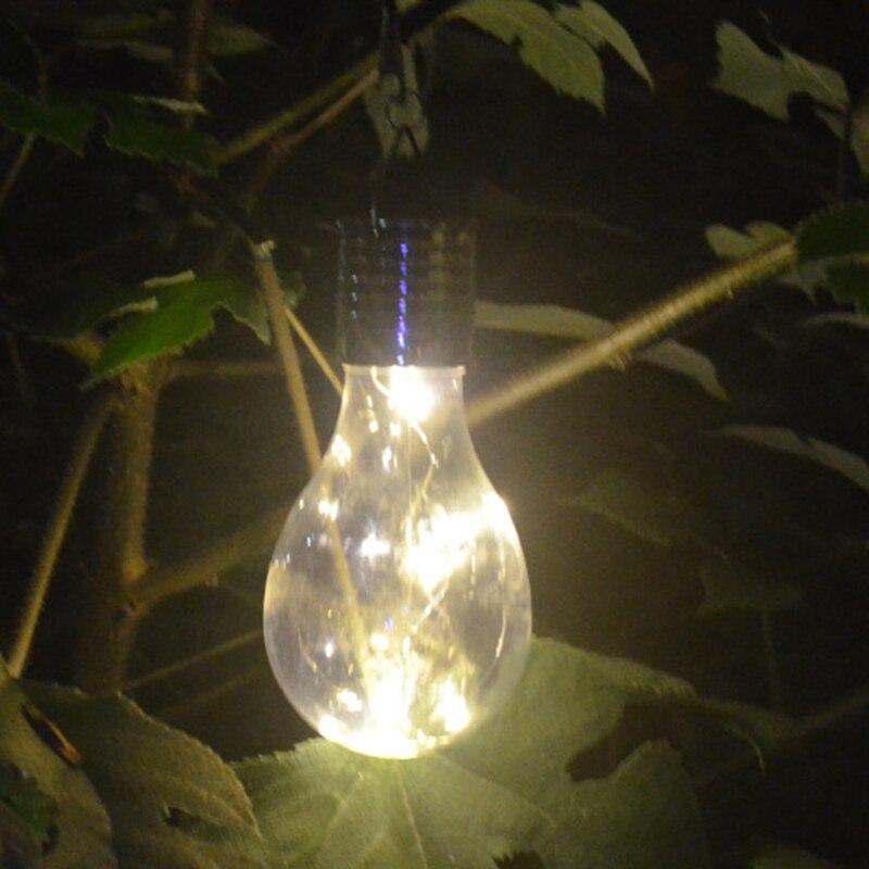 Lâmpadas Solares d' Água camping luzes led Garland : Energia Solar