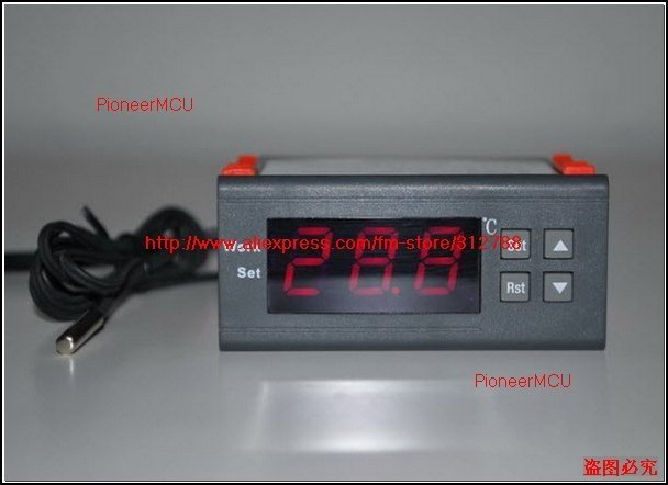 Free shipping,WH7016C Universal Thermostat Temperature controller Digital Thermostat Switch