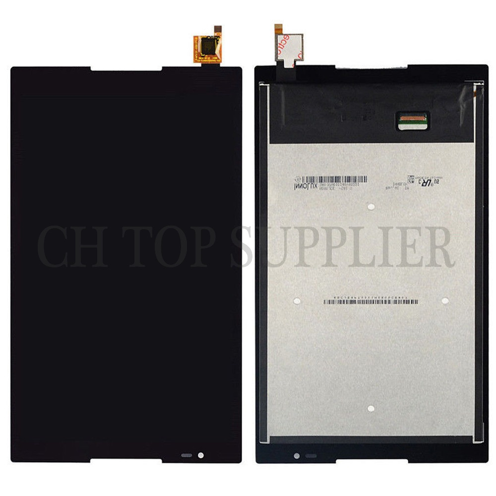 New 8'' inch For Lenovo Tab S8-50 S8-50F S8-50L S8-50LC LCD Display + Touch Screen Digitizer Glass Lens assembly Free shipping lenovo vibe z lcd display screen digitizer accessories for lenovo k910 5 5 inch smartphone free shipping track number in stock