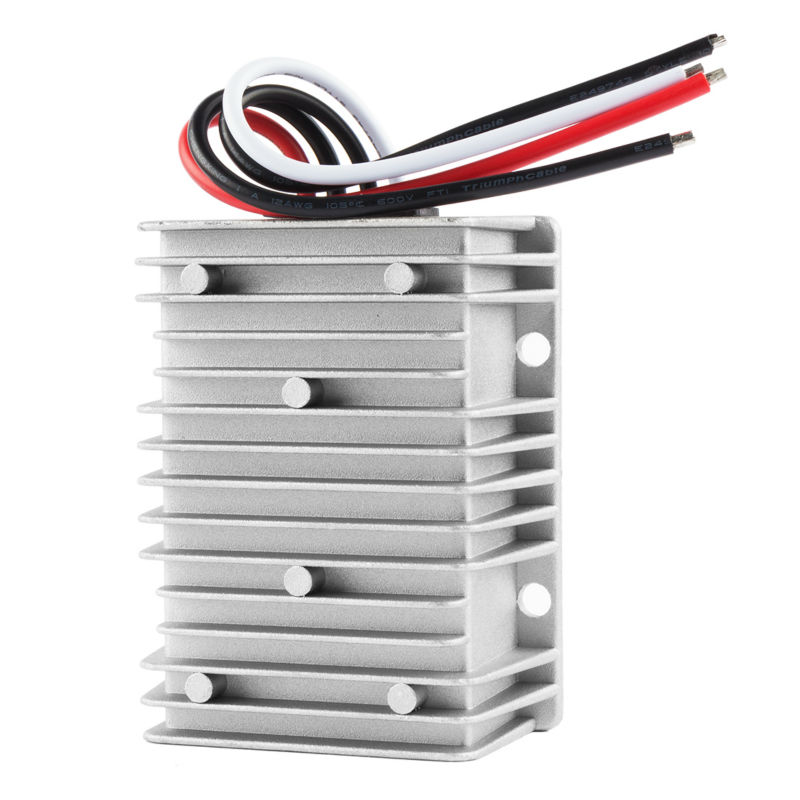 Big Size Waterproof Regulator Module Step Down DC 24V to DC 12V 30A 360W for Golf Carts Voltage Converter Power Transformer dc 7 24v to dc 5v voltage step down transformer module kis3r33s