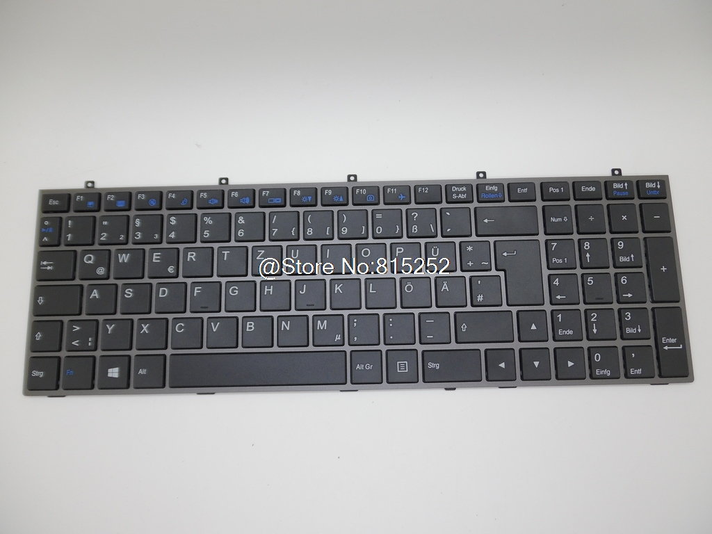 ФОТО Laptop Black Keyboard For P16G P17F R5 P17F V2 V3 V5 V7 P2542G P2742G-CF1 P2742G-CF2 P27G V2  P27K-CF1 Germany/Norwegian New