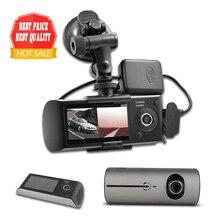 """2017 Nueva Cámara de la Rociada 2.7 """"Del Coche Del Vehículo DVR Cámara de Vídeo Grabador Dash Cam G-sensor GPS Dual Len cámara"""