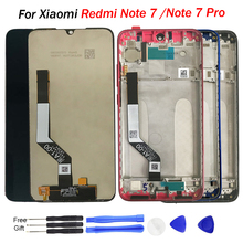 Original for Xiaomi Redmi Note 7 LCD Display Screen Touch Digitizer Assembly Redmi Note7 Pro LCD Display 10 Touch Repair Parts for xiaomi redmi 2 lcd display digitizer touch screen assembly replace hongmi 2 pro 2a redmi2 parts and free tools