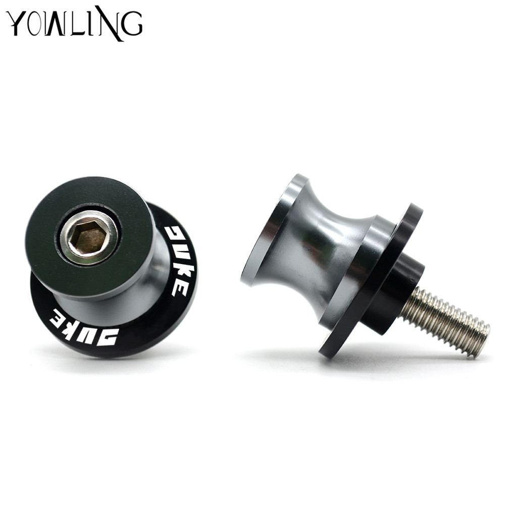 YOWLING New Arrival For KTM DUKE 125 Duke 200 Duke 390 690 990 duke Motorcycle Accessories Swingarm Spools Stand Screws Slider in Stands from Automobiles Motorcycles