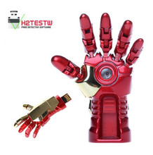 usb flash drive fashion cool iron man hand 4g 8g 16g 32g 64g u disk memory usb stick pen drive pendrive PC with free shipping