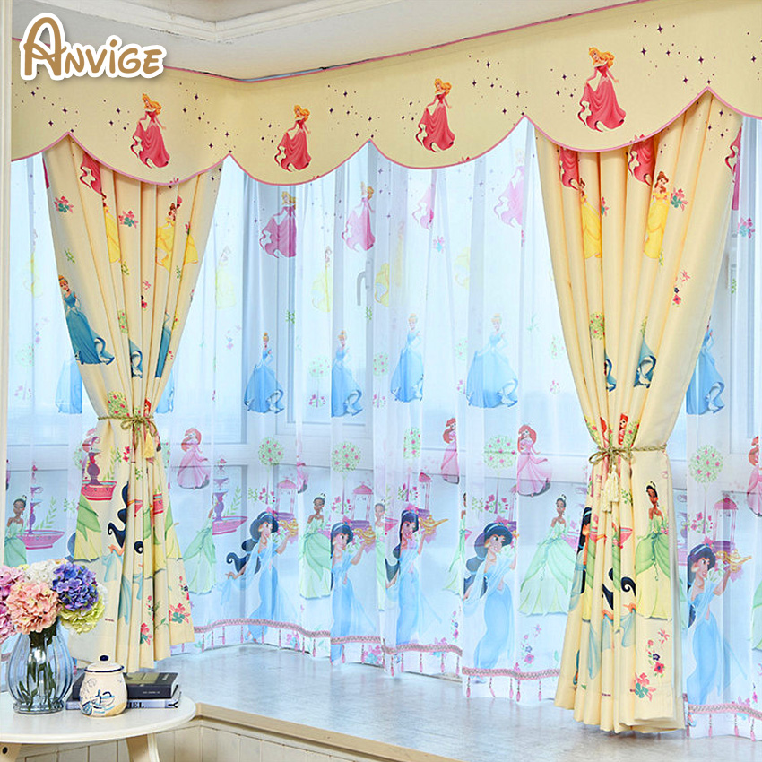 de dibujos animados infantil ecolgico ventana cortina cortina del terminado curtaint nios cortina para nios