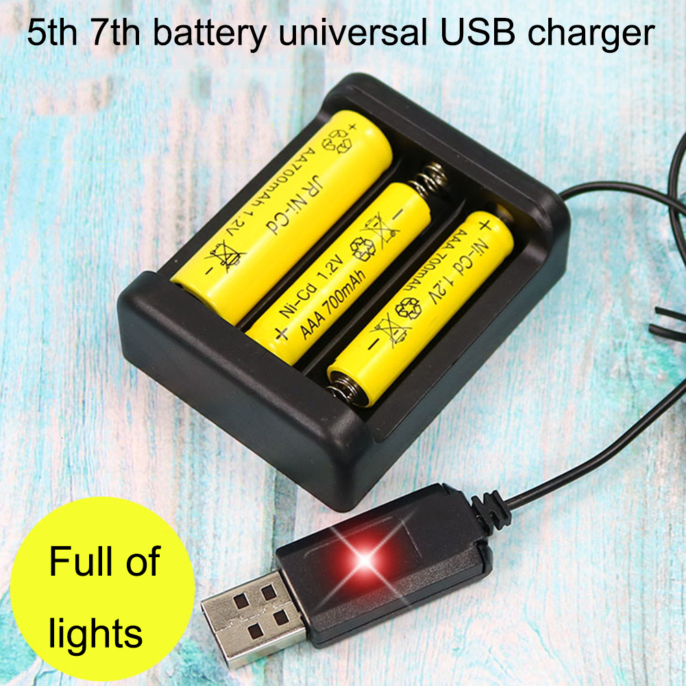 Bateria Recarregável Universal Adaptador de Carga Rápida USB 3/4 Slots Saída Carregador de Bateria Ferramenta de Carregamento Da Bateria Para AA / AAA батарейки заряжаемые por usb