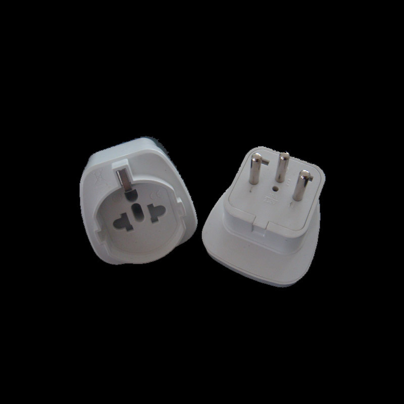 2 mètre blanc Masterplug huit Socket Extension Lead avec indicateur de puissance