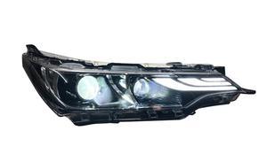Image 5 - Car Styling dla Corolla reflektor altis 2017 ~ 2019/2014 ~ 2015 rok LED DRL ukryta żarówka soczewki biksenonowe wysoka martwa wiązka Parking lampa przeciwmgielna