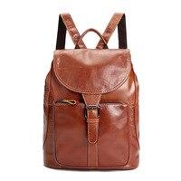 Amasie Новые Теплые портативный портфель женщин натуральная кожа Повседневная рюкзак для девушки маленький рюкзак WED9007