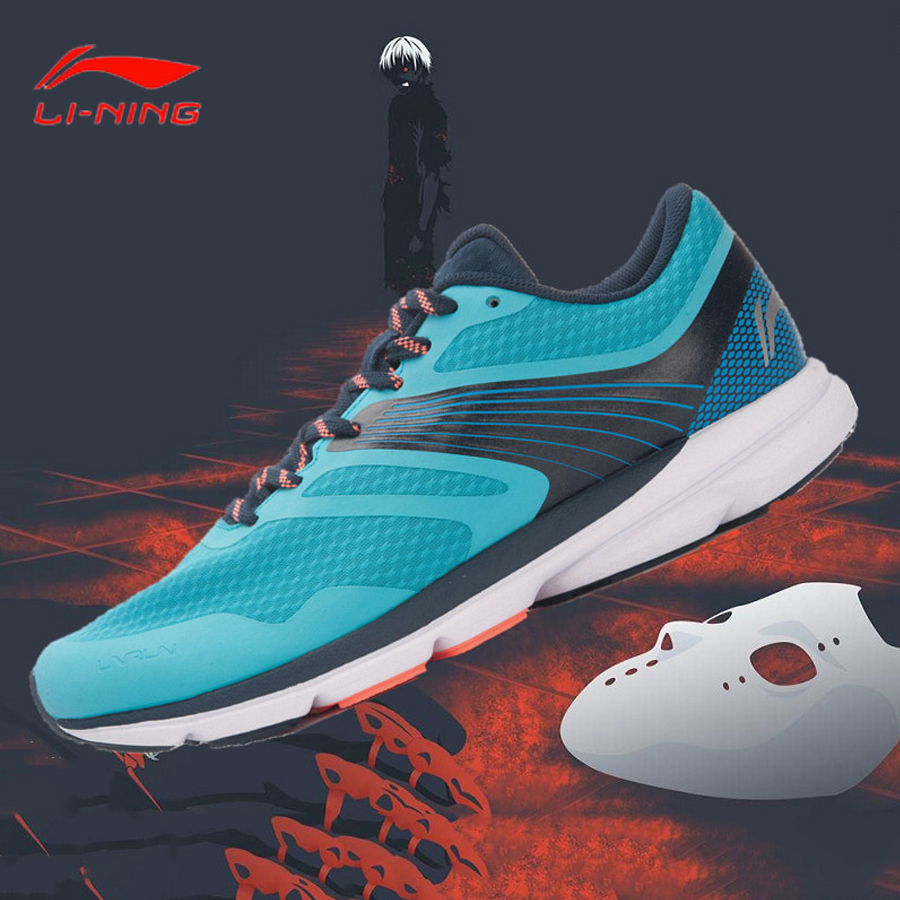 Li Ning Men's ROUGE RABBIT 2018 Smart Running Shoes SMART CHIP Sneakers Cushioning Breathable LiNing Sports Shoes ARBK079-in Running Shoes from Sports & Entertainment