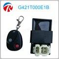 Control Remoto CDI 25 km/h de velocidad ilimitada 10 pulgadas de neumáticos, ac CDI gy6 motocicleta ajustable