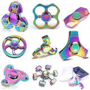TUMI Fidget Spinner Wheel Anti Stress EDC Toy Hand Spinner