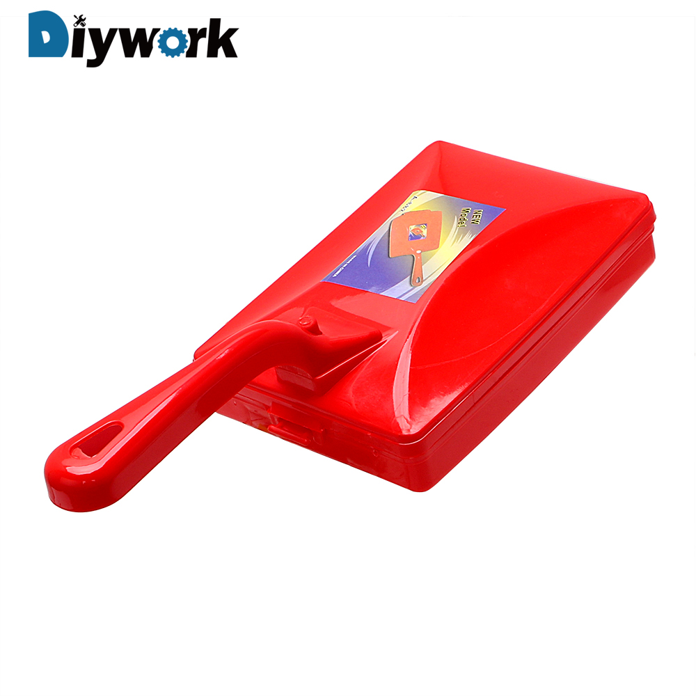 DIYWORK Carpet Brush Dirt Cleaning Tool Collector Roller Dusty Cleaner Handheld Crumb Sweeper Bed Table Sofa Brush
