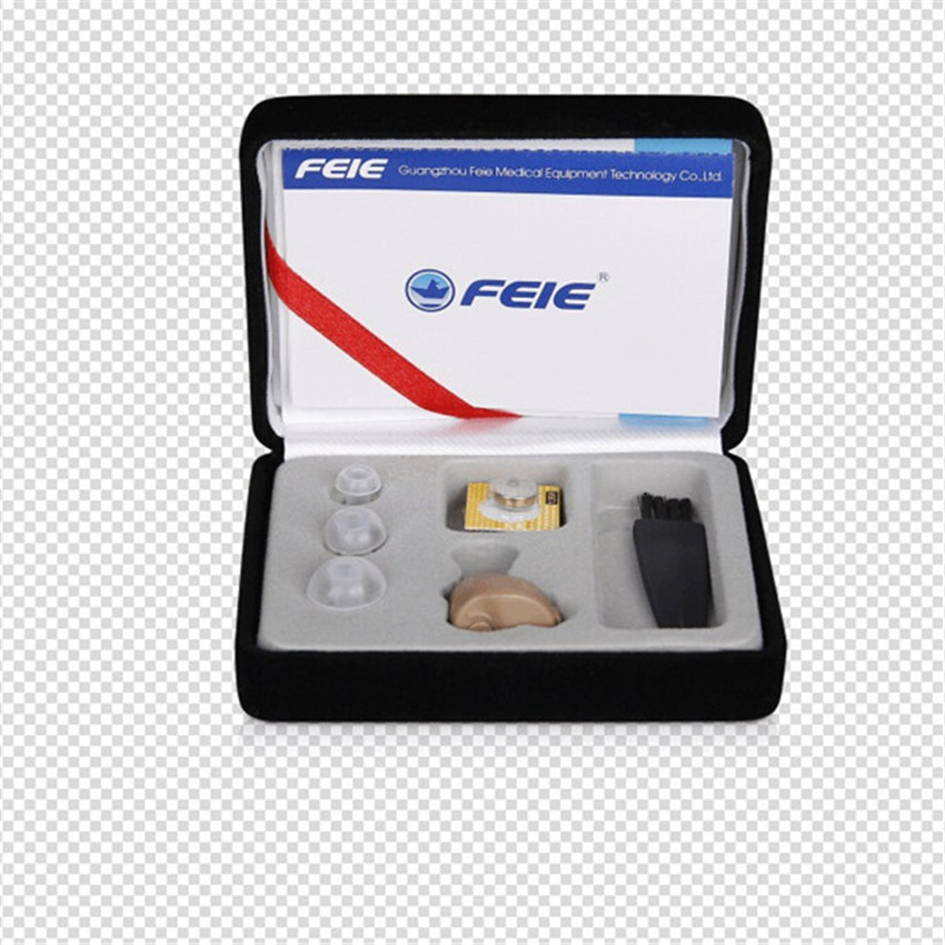 FEIE Deafness Headset High Auality Sound Amplifier Micro Ear Hearing Aid S-212  In-ear Sound Enhancement Drop Shipping