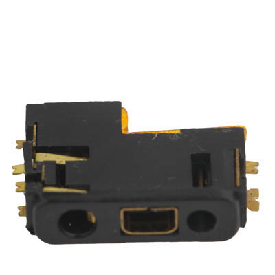 iPartsBuy Versions, Mobile Phone Charging Port Connector for <font><b>Nokia</b></font> 1200 / 6110 / <font><b>1650</b></font> / E50 / E61 / E51 / E65 / 1202 image