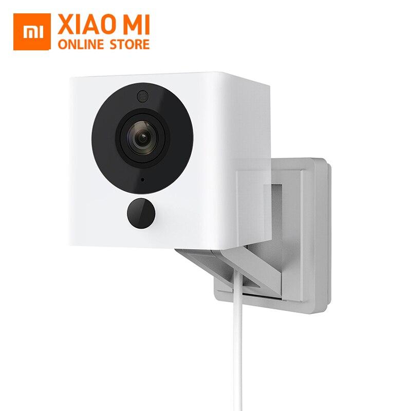 Original Xiaomi CCTV Mijia Xiaofang 1S 1080P Portable Mini caméscope Vision nocturne 8X Zoom numérique WIFI App contrôle pour la maison cam