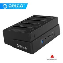 ORICO USB 3.0 to SATA 4 Bay External HDD Docking Station For 2.5 3.5 Inch HDD SSD 4 bay Hard Drive Case Cloner Function