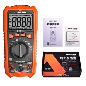 Image 2 - LOMVUM NCV Digital Multimeter 6000 counts Auto Ranging AC/DC voltage Meter Flash Back light Large Screen Ohm Tester Polimetro